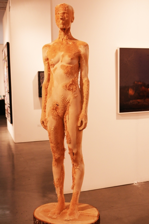 Aron Demetz amazing carved wood sculpture. photos: Linsey Wallace